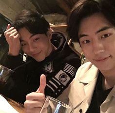 """ji soo and nam joo hyuk"" Nam Joo Hyuk Selca, Ji Soo Nam Joo Hyuk, Asian Actors, Korean Actors, Korean Dramas, Ji Soo Actor, Jong Hyuk, Park Hyung, Nam Joohyuk"