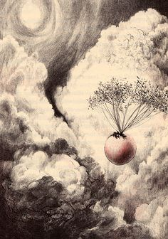 James And The Giant Peach, Nancy Elkholm Burkert, 1961