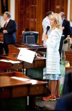 Wendy Davis. Simply amazed by this woman.