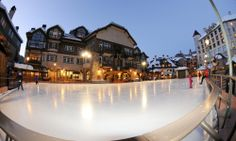 Ice Rink - Beaver Creek, Colorado