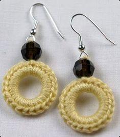 New Ideas Crochet Jewelry Accessories Crochet Patterns Free Women, Crochet Jewelry Patterns, Free Crochet Bag, Crochet Earrings Pattern, Crochet Hat For Women, Crochet Bracelet, Crochet Accessories, Jewelry Accessories, Jewelry Design