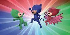 Imagini pentru eroi in pijamale de colorat