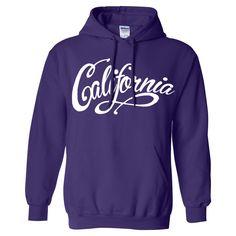 California Beach Script Sweatshirt Hoodie