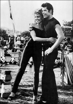 John Travolta and Olivia Newton-John Love this movie so much!