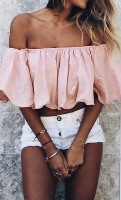 434f89360a2 Feelin Peachy Girls Crop Tops