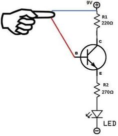 Dol power and control circuit Refrigeration and