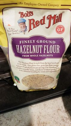 Fun hazelnut flour. The guy doesn't look Turkish, but who does?