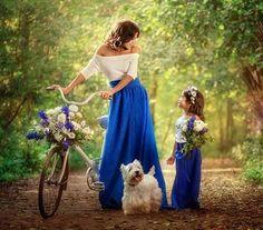 Mom daughter bond