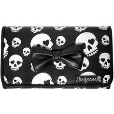 Skull & Bow Purse Wallet <3