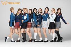 TWICE on Skoolooks  . . . @twicetagram . . . #TWICE#Nayeon#Jeongyeon#Momo#Sana#Jihyo#Mina#Dahyun #Chaeyoung#Tzuyu#ONCE #OnceTWICE#twicetagram #_minamyoui_#jiha_gcandy