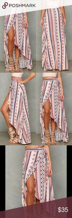🌹🌹🌹🆕 TRIBAL BOHO WRAP SKIRT 🌹🌹🌹 🌹🌹🌹🆕 BOHO TRIBAL PRINT SKIRT WRAP SKIRT ONE SIZE FITS MOST 🌹🌹🌹 Skirts