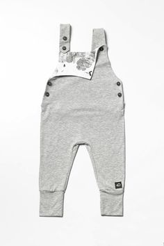 Baby Toddler Overalls Grey Clouds, Cloud print, Overall, Dungarees by Pocopato on Etsy