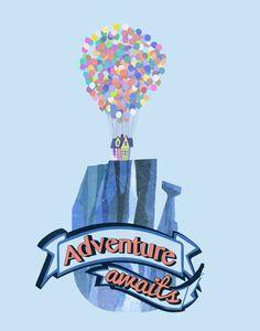 adventure awaits up - Google Search