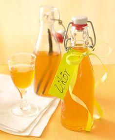 Ein fruchtiger Likör aus Quitten, Ingwer und Weinbrand