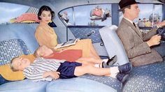 Wasn't life grand before those annoying seat belt laws?