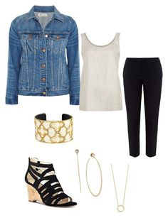 """""""Work Casual"""" by polyvorian-695 on Polyvore featuring Chloé, Madewell, Nine West, Marina Hoermanseder, Brighton, Jennifer Zeuner and Michael Kors"""