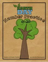 Earth Day Numbers Activity - Have Fun Teaching