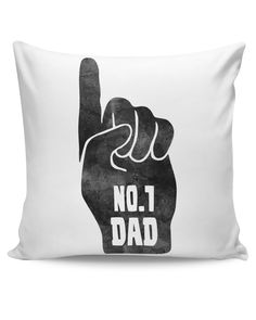 No.1 Dad | Father's Day Cushion Cover