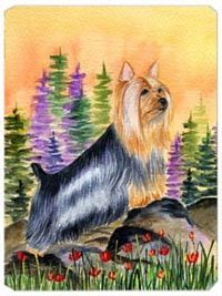 Silky Terrier Mouse Pad / Hot Pad / Trivet