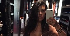 """Kourtney Kardashian looks abs-olutely amazing! The """"Keeping Up with the Kardashians"""" star, who just gave birth to her third baby in December, has clearly…"""