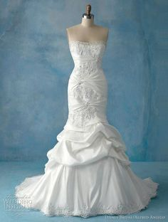 And my favorite Disney princess of all, Ariel, The Little Mermaid, here is my future wedding dress folks