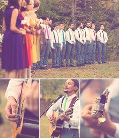 Real Wedding: Lisette + Ryans Bohemian Wedding