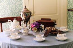 Çay, Kupa, Tablo, Çaydanlık, Dekorasyon, Dekoratif