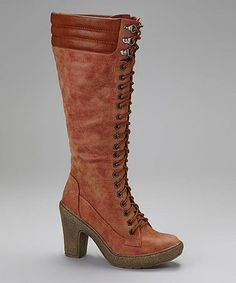 Love this Rust Antique Montana Boot by Henry Ferrera on #zulily! #zulilyfinds