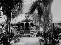 Landhuis in marienburg, Suriname