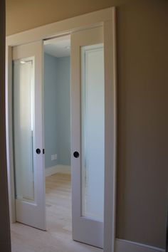 Sliding french doors on pinterest for French doors no glass