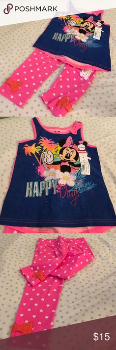 Minnie Mouse Happy Day Outfit Minnie Mouse Happy Day Outfit - New With Tags - Disney - Okie Dokie Brand Disney Matching Sets