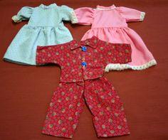 3-x-Puppenkleid-Neu-Puppengroesse-40-45-cm-9