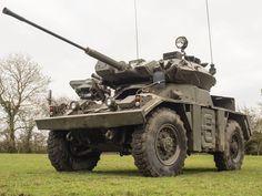 FV 721 Fox Combat Vehicle Reconnaissance (Wheeled) (CVR(W)) ' British 4 × 4 armoured car British Tanks, British Army, Military Armor, Armored Vehicles, Present Day, Cold War, Car Photos, Military Vehicles, Ww2