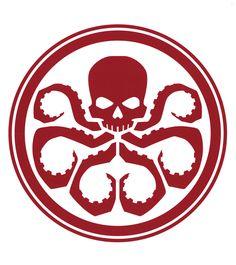 Collection of Hydra logo concept artwork