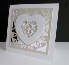 CAS310 ~ Heart Vine by sistersandie - Cards and Paper Crafts at Splitcoaststampers