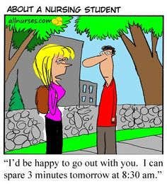 About A Nursing Student Cartoons. Hilarious!