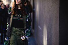 Streetstyle на Неделе мужской моды в Милане
