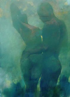 Blue Couple, Radiance, Bill Bate