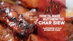 If you're anything like me, it's almost impossible to walk past a Cantonese barbecue shop without picking up a pack of char siu (barbecue pork), siu yuk (roast pork belly) or …
