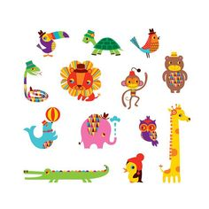 really cute animal temporary tattoos #craftanddiyforkids #temporarytattoos