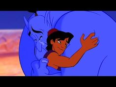 Turning Robin Williams into 'Aladdin's' Genie