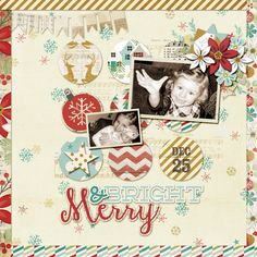 Vintage designs would look nice for baby's first Christmas