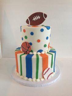 Gator football cake