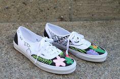 17293611cf0b01 Vans Custom Culture ambassador Tay Jardine s custom Authentics. http   www. vans