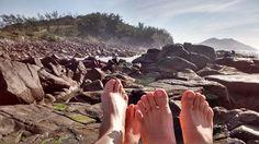PÉ DE ROLÊ: Praia do Ouvidor - Garopaba
