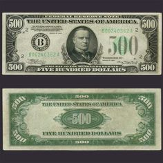 Us Paper Money Denominations Jamaican Dollar, Make Money Online, How To Make Money, Federal Reserve Note, Dollar Money, Money Stacks, Five Hundred, Old Money, Money Laundering