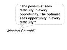 Opportunities and Difficulty