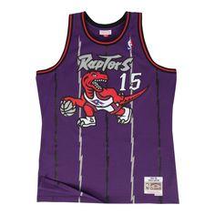 b6a1d5e25 Men s Vince Carter Toronto Raptors Mitchell   Ness Purple Throwback  Swingman Jersey