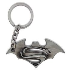 Superman vs Batman Dawn of Justice Logo Keychain Justice Logo, Dawn Of Justice, Dc Comics Characters, Batman Vs Superman, Marvel Dc Comics, Comic Character, Gifts For Him, Vintage Jewelry, Geek Stuff