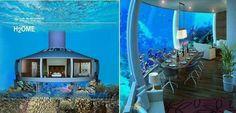 Under water house, Palm Island, Dubai